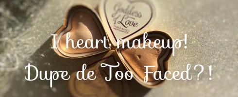 Les cœurs I Heard makeup!